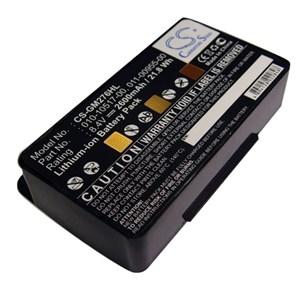 GPS batteri Garmin 276, 2600 mAh