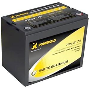 Batteri Lithium 12V, 75Ah