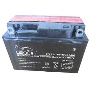 Batteri 12N6,5L-BS, LTX6.5L-BS