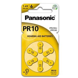 Hörapparatsbatteri Panasonic PR10